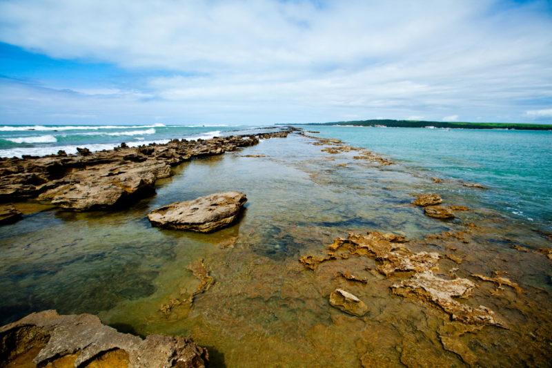 Tábua das marés - Barra de São Miguel Piscinas Naturais Barreira de Corais