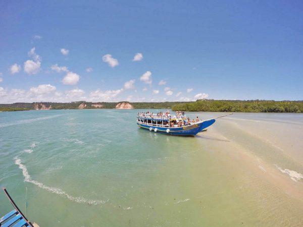 Embarcações para a Lagoa do Roteiro