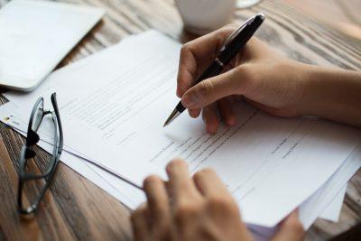 Registro de imóveis - contrato