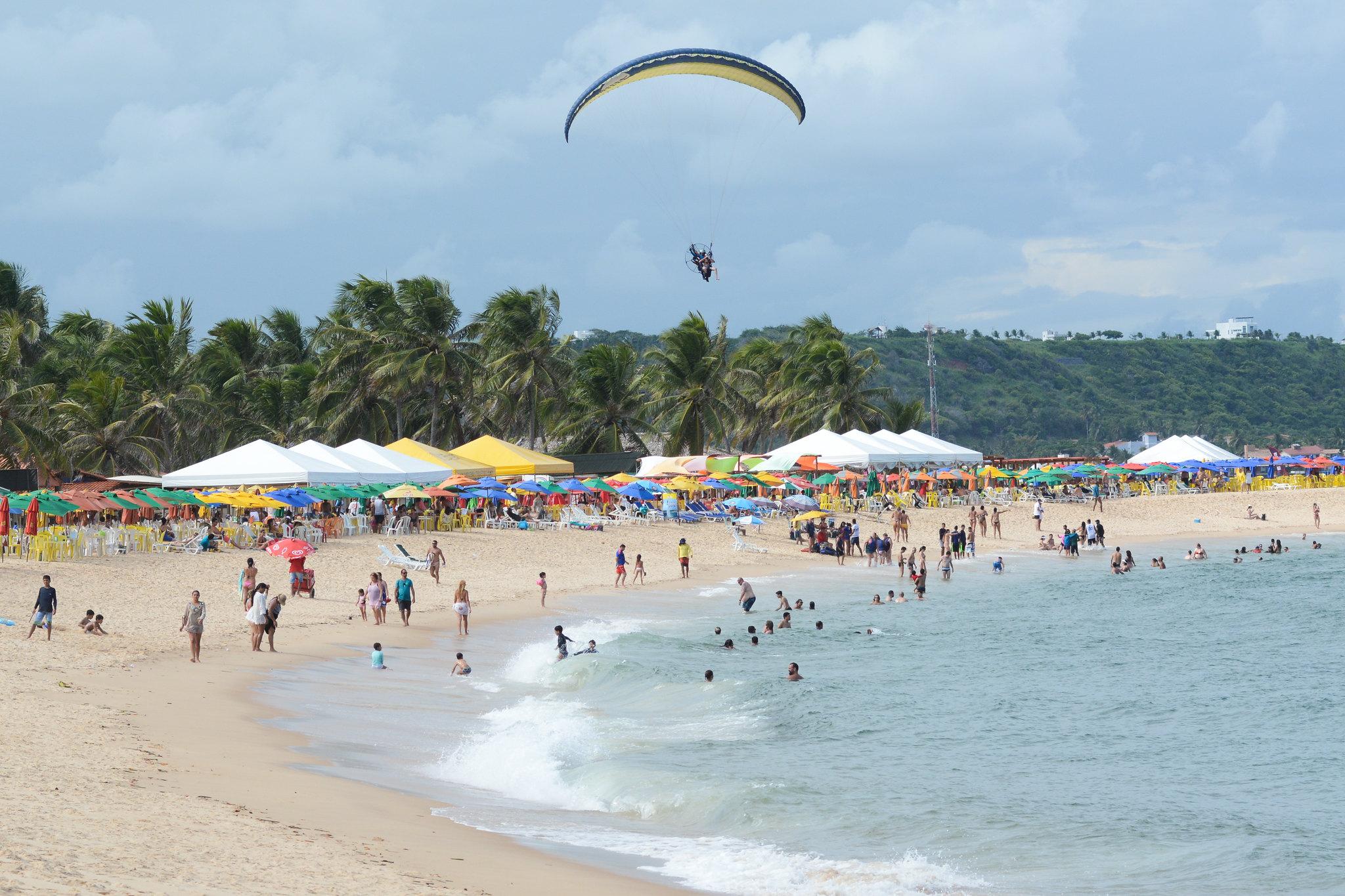 O que fazer na Barra de São Miguel - Praia