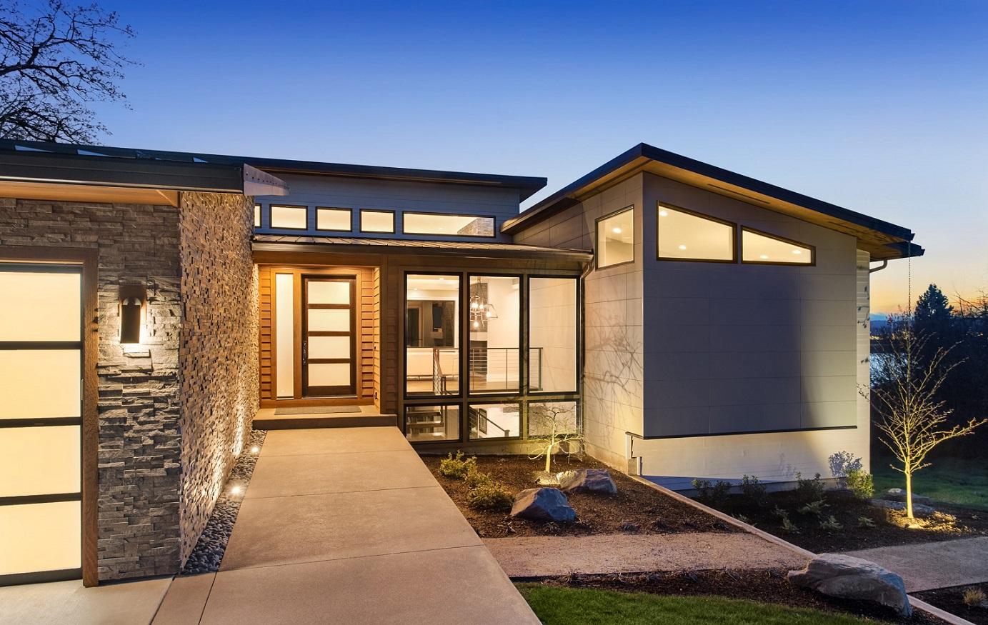revestimentos para área externa - casa com pedras naturais