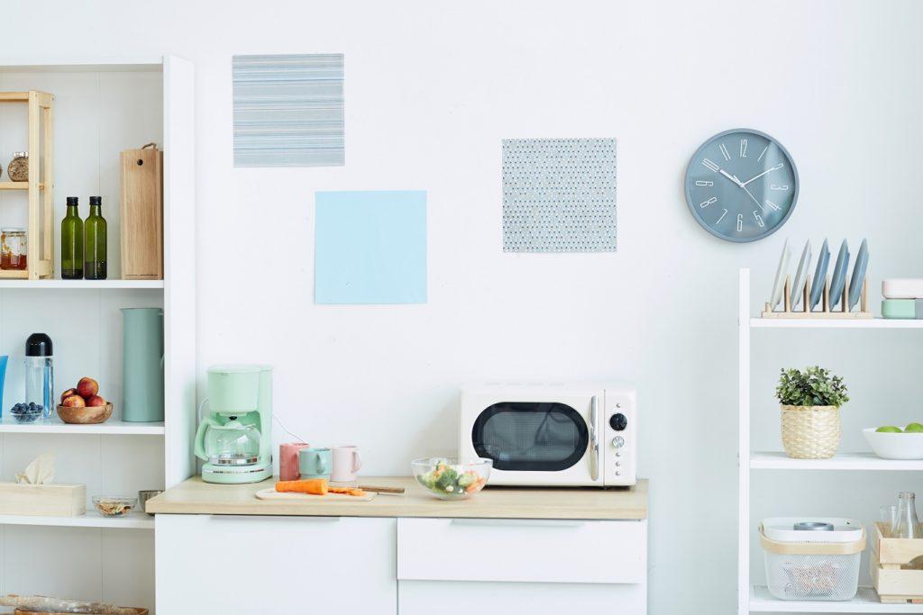 como repaginar a cozinha - cozinha colorida